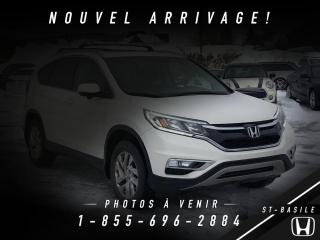 Used 2015 Honda CR-V EX + AWD + TOIT + CAMERA + BAS KILO !!! for sale in St-Basile-le-Grand, QC