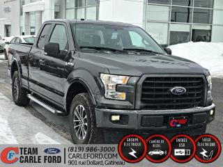 Used 2017 Ford F-150 Ford F-150 XLT S/CAB 2017, caméra de rec for sale in Gatineau, QC