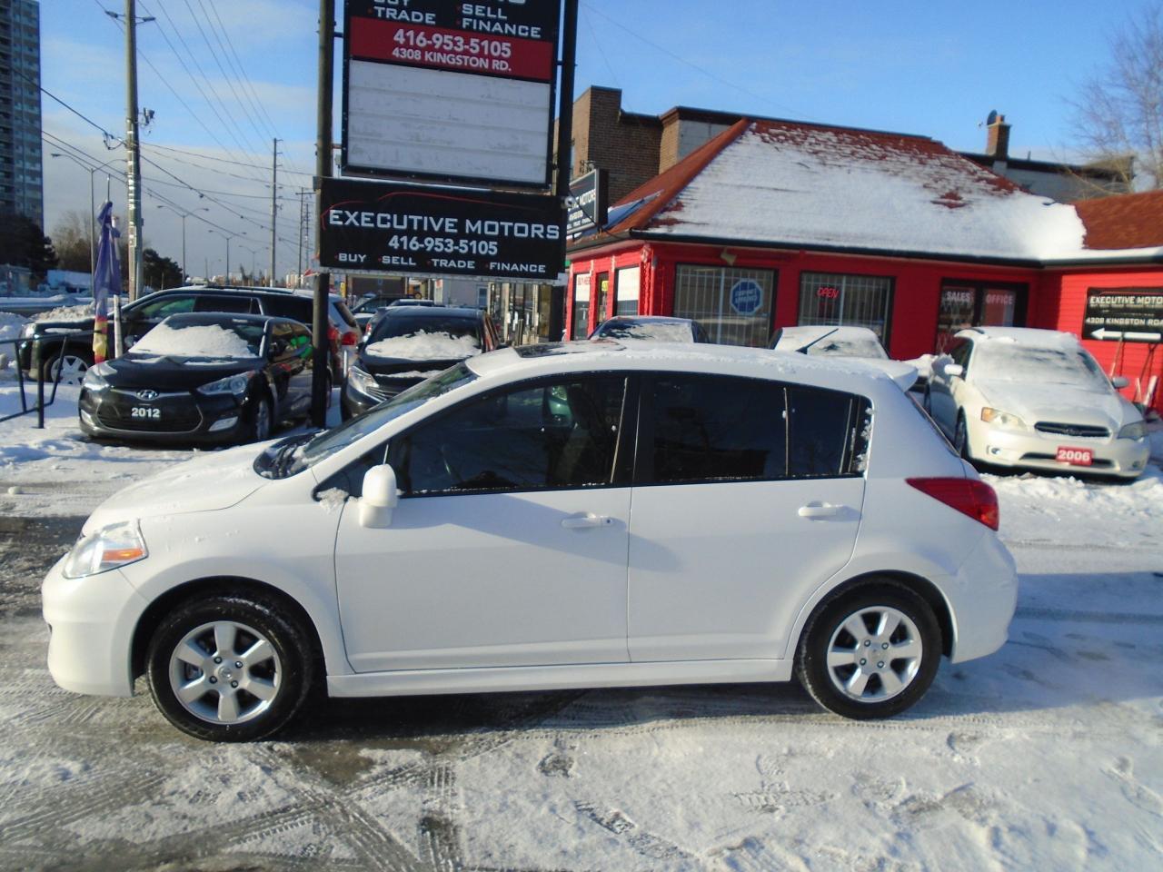 2012 Nissan Versa 1.8 SL / ALLOYS/ SUNROOF / BLUETOOTH/ CERTIFIED/