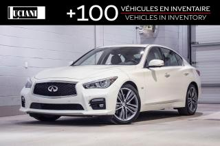Used 2017 Infiniti Q50 3.0t Sport Tech for sale in Montréal, QC