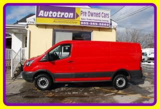 Used 2016 Ford TRANSIT-250 3/4 Ton Cargo Van, Low Roof, Loaded for sale in Woodbridge, ON