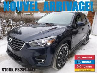 Used 2016 Mazda CX-5 Gt|awd|cuir|toitouv for sale in Drummondville, QC