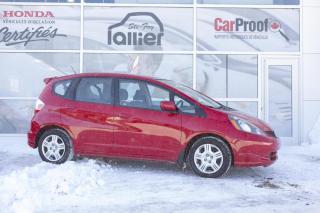 Used 2014 Honda Fit LX ***GARANTIE 10 ANS/200 000 KM*** for sale in Québec, QC
