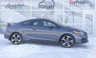 Used 2014 Honda Civic Si ***GARANTIE 10 ANS/200 000 KM*** for sale in Québec, QC