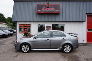 Used 2014 Mitsubishi Lancer Se Ltd édition Aut for sale in Lévis, QC