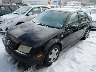 Used 2001 Volkswagen Jetta GLS~AS-IS!!! for sale in Toronto, ON