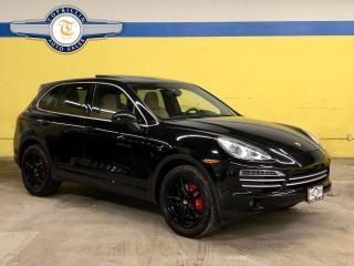 Used 2014 Porsche Cayenne Platinum Edition, Panoramic Roof for sale in Vaughan, ON