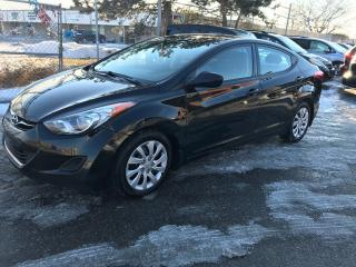Used 2013 Hyundai Elantra GL,AUTO,144K,NO ACCIDENTSAFETY+3YRS WARANTY INCLUD for sale in Toronto, ON