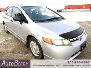Used 2008 Honda Civic DX-G - 1.8L - Auto for sale in Woodbridge, ON