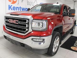 Used 2018 GMC Sierra 1500 SLE 4x4 with heated power leather seats for sale in Edmonton, AB