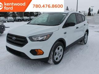 New 2019 Ford Escape S 100A, FWD, 2.5L, Remote Keyless Entry, Reverse Camera for sale in Edmonton, AB