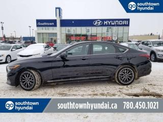 Used 2018 Genesis G80 SPORT/AWD/3D VIEW CAM/NAV/PANO ROOF for sale in Edmonton, AB