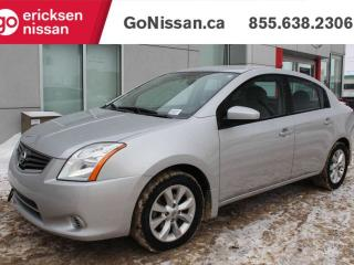 Used 2011 Nissan Sentra 2.0: AUTOMATIC, POWER LOCKS, AUXILIARY INPUT, CD for sale in Edmonton, AB