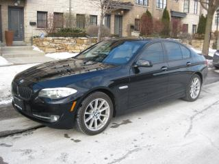 Used 2011 BMW 5 Series 550i, LOW KMS, CERTIFIED, NEW TIRES, NAVI, LEATHER for sale in Toronto, ON
