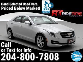 Used 2015 Cadillac ATS Sedan Luxury AWD for sale in Winnipeg, MB