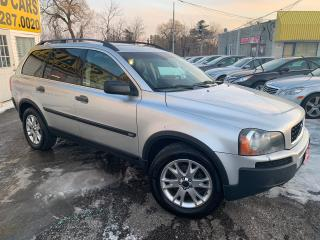 Used 2004 Volvo XC90 7 SEATER/ AWD/ LEATHER/ SUNROOF/ ALLOYS! for sale in Scarborough, ON