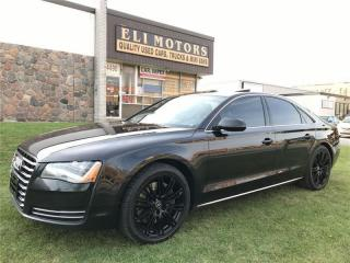 Used 2011 Audi A8 Premium | Navigation | Backup Cam |Parking Sensors for sale in North York, ON