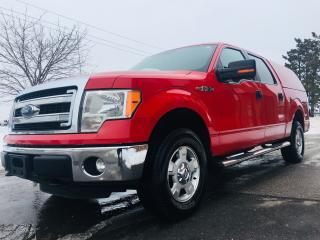 Used 2014 Ford F-150 XLT Crew Cap with Matching Cap for sale in Mississauga, ON