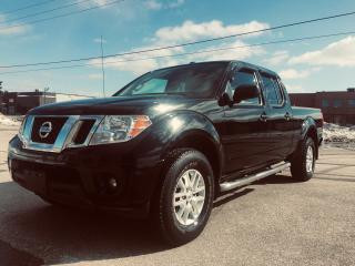Used 2015 Nissan Frontier SV Crew Cap in Black for sale in Mississauga, ON