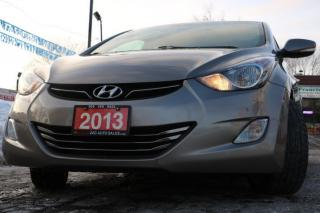 Used 2013 Hyundai Elantra Limited ACCIDENT FREE for sale in Brampton, ON