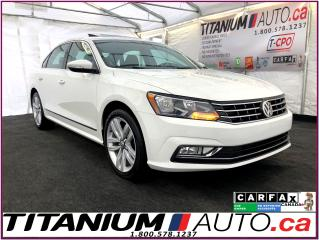 Used 2016 Volkswagen Passat Highline-Camera-GPS-Blind Spot-Sunroof-Leather-App for sale in London, ON