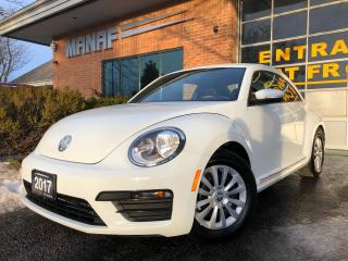 Used 2017 Volkswagen Beetle Coupe Rear Cam Low Km Heated Seats Certified* for sale in Concord, ON
