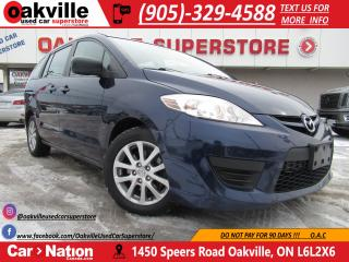 Used 2010 Mazda MAZDA5 GS | CAPTAIN CHAIRS | 6 PASSENGER | GREAT VALUE for sale in Oakville, ON