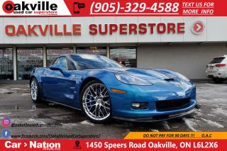 Used 2010 Chevrolet Corvette ZR1 | 3ZR PKG | 638HP | EXTREMLY RARE for sale in Oakville, ON