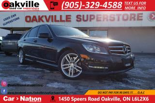 Used 2014 Mercedes-Benz C-Class C300 4MATIC | PANOROOF | NAVI | B/U CAMERA for sale in Oakville, ON