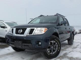 Used 2018 Nissan Frontier PRO-4X 4.0L V6 LEATHER NAVIGATION HEATED SEATS for sale in Midland, ON