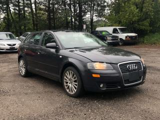 Used 2007 Audi A3 2.0T 6SPD MANUAL|PANO ROOF| AS IS| BY APPOINTMENT ONLY for sale in Newmarket, ON