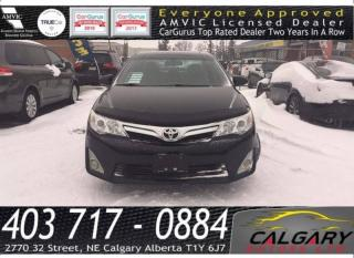 Used 2012 Toyota Camry 4dr Sdn V6 Auto for sale in Calgary, AB