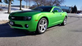 Used 2010 Chevrolet Camaro 2dr Cpe 1LT   Accident Free   6 Speed   Parking Sensors for sale in Vaughan, ON