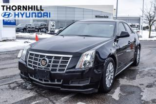 Used 2013 Cadillac CTS Base  - Leather Seats -  Bluetooth for sale in Thornhill, ON