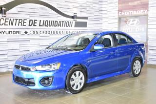 Used 2017 Mitsubishi Lancer Es Gr Electrique+a/c for sale in Laval, QC
