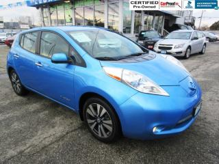 Used 2014 Nissan Leaf SV for sale in Surrey, BC