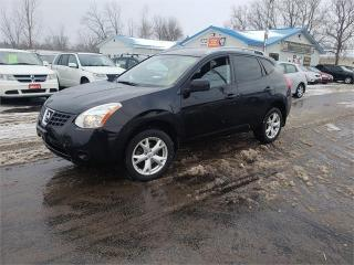 Used 2009 Nissan Rogue SL AWD 4cyl 116k Safetied we finance SL for sale in Madoc, ON