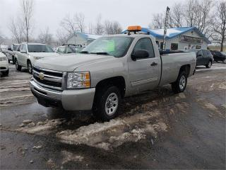 Used 2009 Chevrolet Silverado 1500 4x4  long box reg cab Safetied WT for sale in Madoc, ON