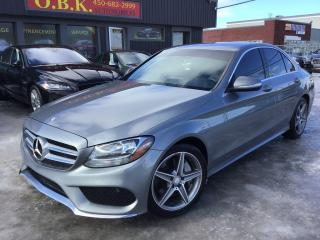 Used 2015 Mercedes-Benz C-Class C300 Awd-Amg Pkg for sale in Laval, QC