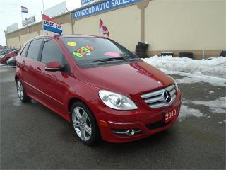 Used 2010 Mercedes-Benz B-Class B 200 Turbo for sale in Breslau, ON
