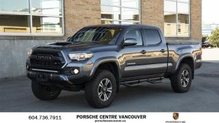 Used 2017 Toyota Tacoma 4x4 Double Cab V6 SR5 6A TRD Sport   Lots of extras! for sale in Vancouver, BC
