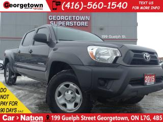 Used 2015 Toyota Tacoma V6 | 4X4 | DOUBLE CAB | TOUCH SCREEN | AUX INPUT for sale in Georgetown, ON