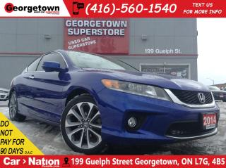 Used 2014 Honda Accord EX-L | V6 | NAVI | LEATHER | CAMERA | SUNROOF for sale in Georgetown, ON