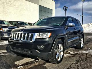 Used 2013 Jeep Grand Cherokee OVERLAND *V8*CUIR*TOIT*GPS* for sale in Brossard, QC