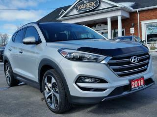 Used 2016 Hyundai Tucson Premium Ultimate AWD, NAV, Heated/Cooled Seats, Pano Roof, Safety Group for sale in Paris, ON