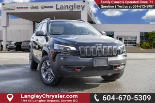 Used 2019 Jeep Cherokee Trailhawk - Bluetooth for sale in Surrey, BC