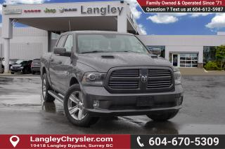 Used 2015 RAM 1500 Sport *BLUETOOTH* * NAVIGATION* * BACKUP CAMERA* for sale in Surrey, BC