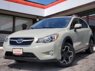 Used 2014 Subaru XV Crosstrek Limited Package NAVI | Sunroof | Bluetooth | AWD for sale in Waterloo, ON