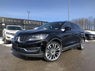 Used 2017 Lincoln MKX Reserve for sale in Barrie, ON
