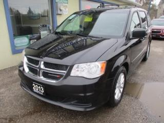 Used 2013 Dodge Grand Caravan FAMILY MOVING SE MODEL 7 PASSENGER 3.6L - V6.. CAPTAINS.. STOW-N-GO.. DVD PLAYER.. BACK-UP CAMERA.. BLUETOOTH SYSTEM.. for sale in Bradford, ON